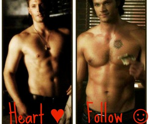 dean, follow, and heart image
