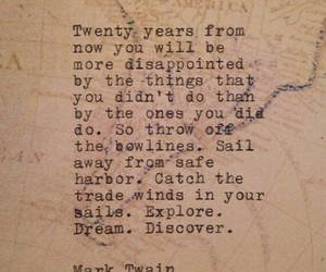 discover, Dream, and mark twain image