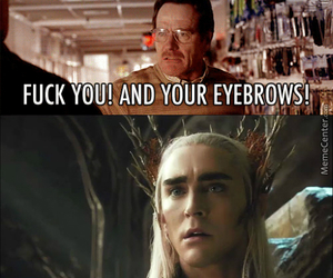 eyebrows, the hobbit, and funny image