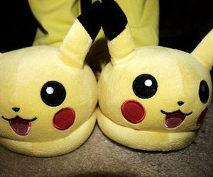 slippers, cute, and pokemon image