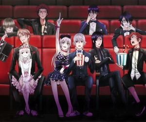 k project and anime image