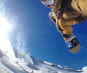 snowboarder, snowboarding, and adiads image