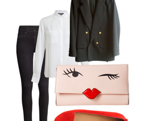 blazer, blouse, and boyfriend jacket image