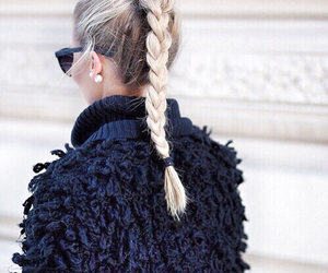fashion, hair, and blonde image