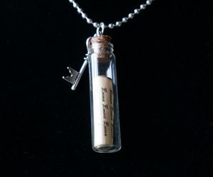 key, necklace, and once upon a time image