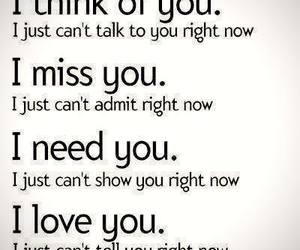 miss you, think, and talk image