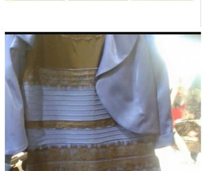 blue and black, colors, and dress image