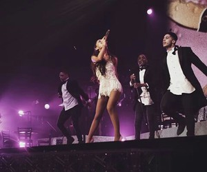 concert, fans, and ariana grande image