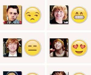 emoji, funny, and harry potter image