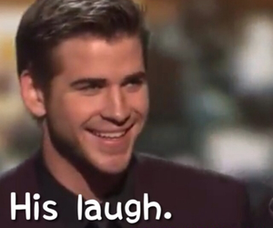 laugh, liam hemsworth, and things i love about liam image