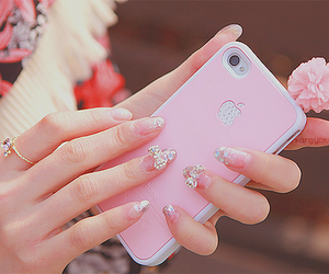 case, girl, and pretty image