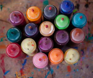 paint and colorful image