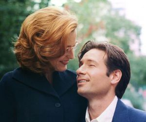 mulder, scully, and x files image