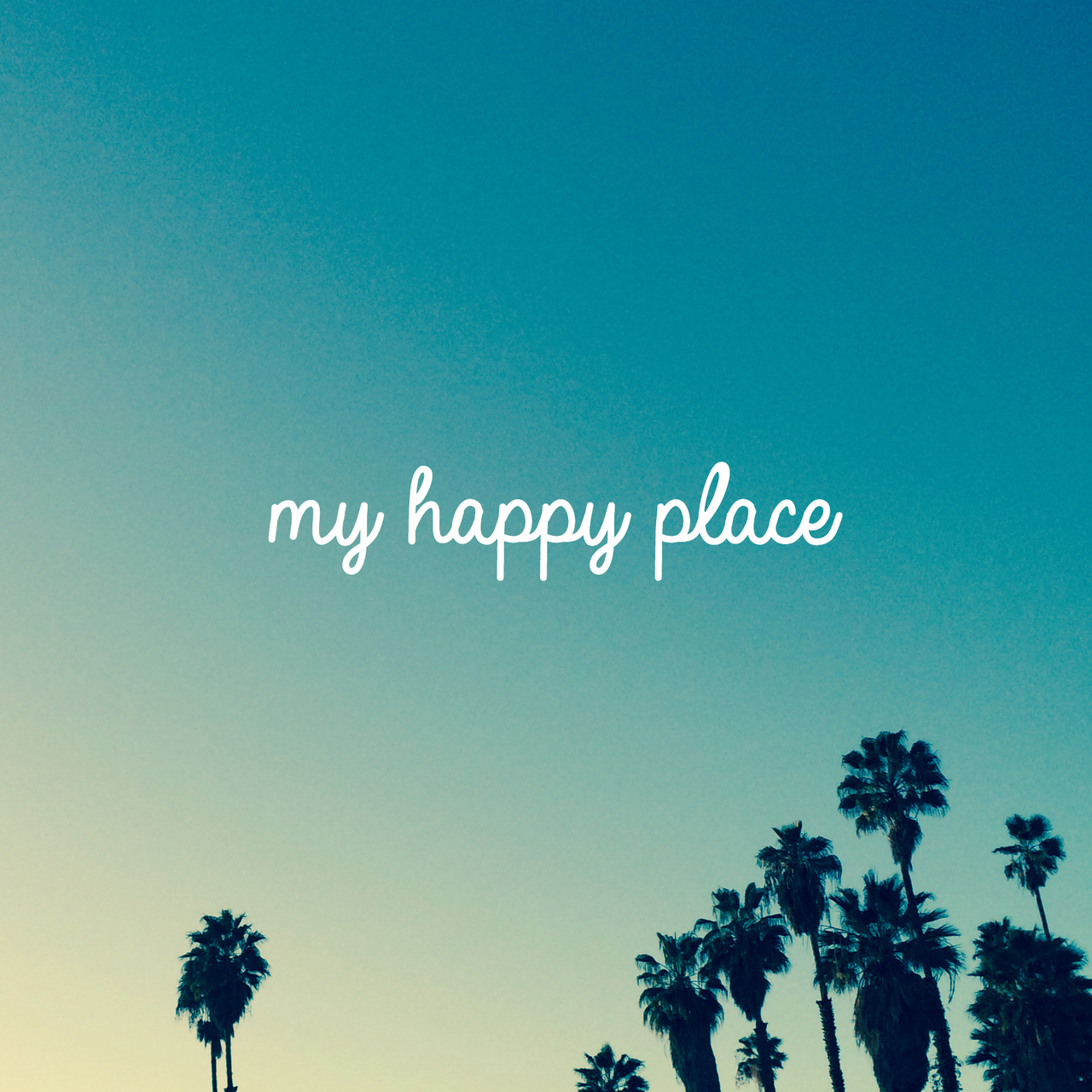 happy, places, and blue image