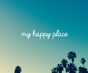 happy, place, and blue image