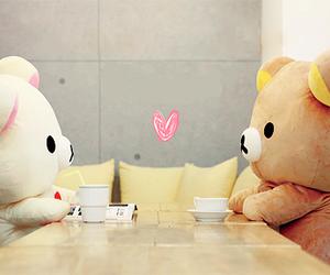 cute, love, and bear image