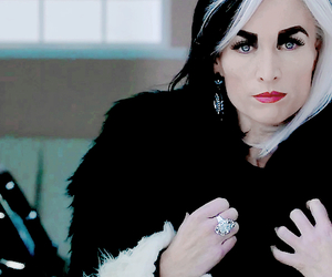 ouat, once upon a time, and cruella de vil image