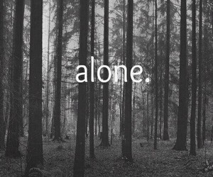 alone, background, and grunge image