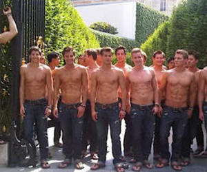abercrombie and fitch, model, and boys image
