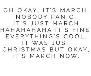 march, funny, and time image