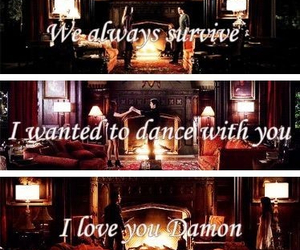 damon, tvd, and Dream image