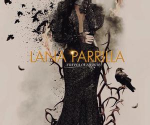 lana parrilla, ouat, and regina mills image