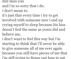 quotes, crying, and miss you image