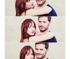 Jamie Dornan, dakota johnson, and cinquante nuances de grey image