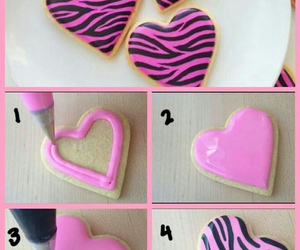 pink, Cookies, and diy image