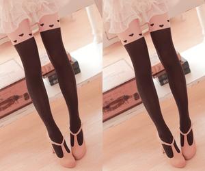 korean fashion, shoes, and lona socks image