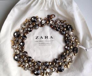 fashion, necklace, and Zara image