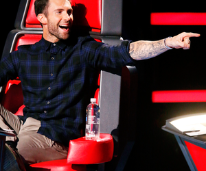adam levine, the voice, and sexy image