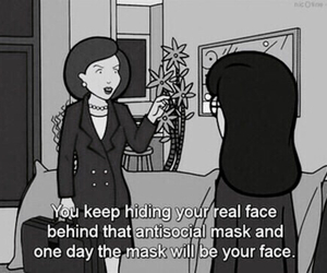 Daria, quotes, and antisocial image