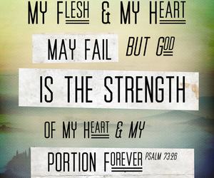 god, jesus, and strength image