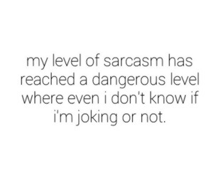 quote, life, and sarcasm image
