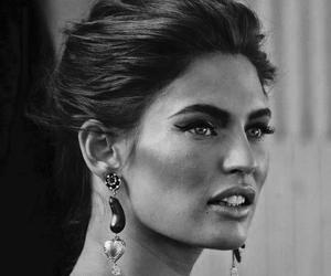 Bianca Balti, model, and makeup image