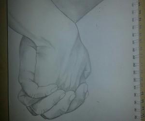 art, black and white, and boyfriend image