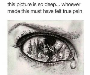 pain, sad, and deep image