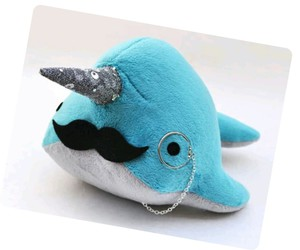 blue, bright, and moustache image