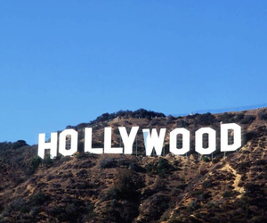 hollywood, travel, and usa image