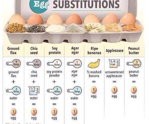 eat to live and egg replacements image