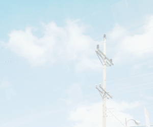 blue, sky, and pastel image
