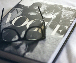 vogue, fashion, and glasses image