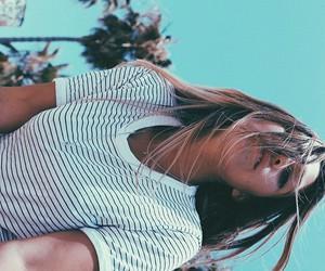 girl, summer, and coachella image