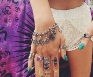 body, boho, and jewelry image