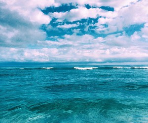 ocean, beach, and blue image