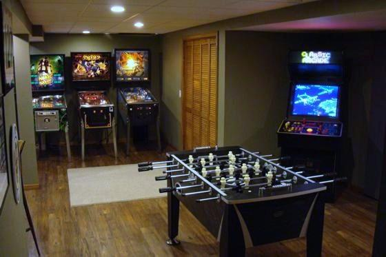 Interior, Games Rooms Ideas With Color Nice Pictures Small ...