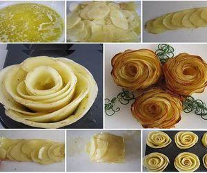 diy- potato roses image