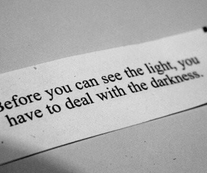 quotes, light, and Darkness image
