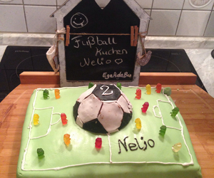 cake, sweet, and fenerbahce image